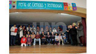 Feria de Ciencia. Fue el puntapié inicial de esta iniciativa. Se realizó en la escuela Mariano Moreno / Foto: Mauricio Centurión - Uno Santa Fe