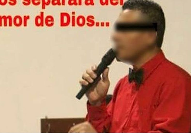 Un pastor fue detenido acusado de abusar de una menor que asistía a su templo