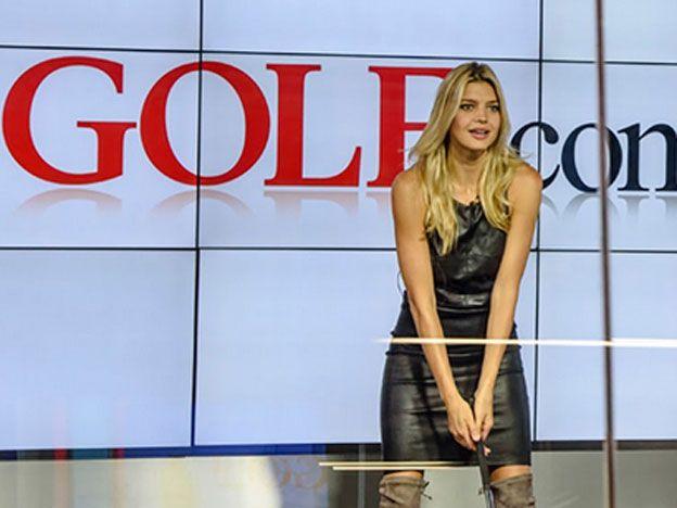¡Hoyo en uno! Una de las golfistas más sensuales del mundo