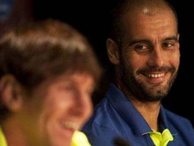 Guardiola usó a Messi como ejemplo delante de sus dirigidos