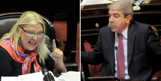 Carrió dijo que si gana Aníbal Fernández se va del país porque si no será liquidada