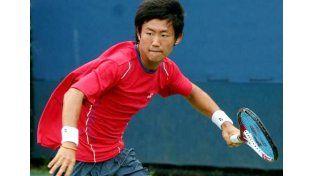 Increíble fantasía de un tenista japonés en Estados Unidos