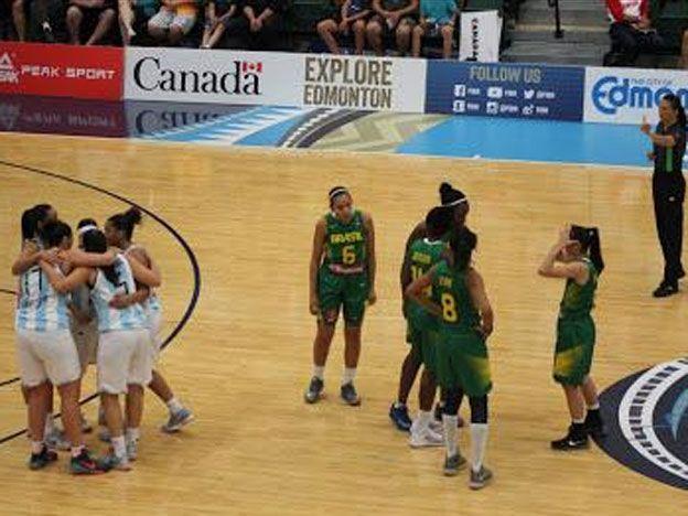 Histórico triunfo de Argentina ante Brasil en básquetbol femenino