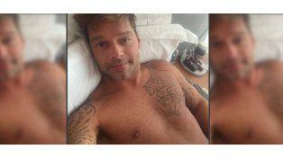La selfie de Ricky Martin que causó furor
