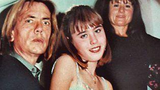 Natalia y sus papás. La chica murió en mayo de 2000. Sus padres tras un largo proceso fueron absueltos por el beneficio de la duda.