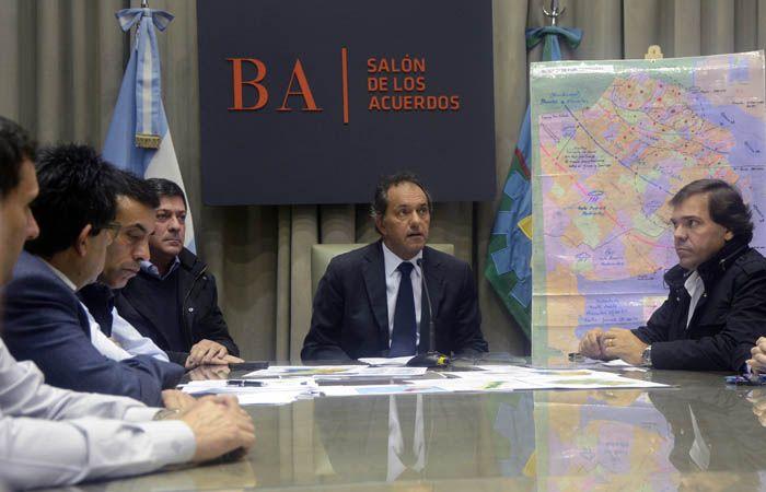 El gobernador de Buenos Aires y candidato a presidente del FpV