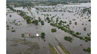Los vecinos de las localidades inundadas temen que vuelva a llover en el sur santafesino.
