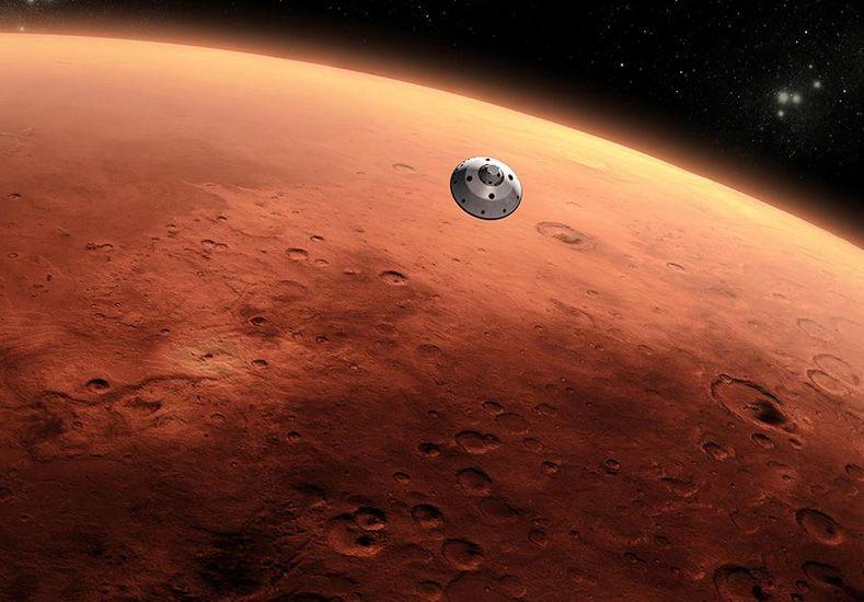 Científicos descubren un lago seco en Marte que podría ser una fuente de vida