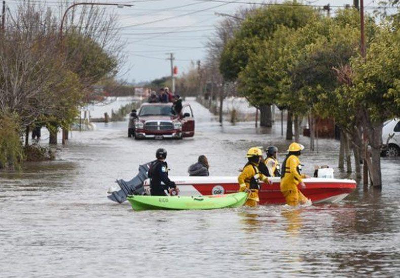 Las lluvias afectaron gravemente a localidades como Sanford. (Foto: H. Rio)