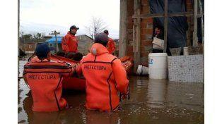 Aníbal Fernández culpó al campo por las inundaciones pero admitió que faltan obras hidráulicas