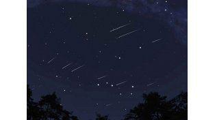 Una lluvia de meteoros iluminará la Tierra