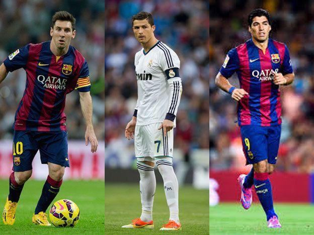 Messi compite con CR7 y Suárez para ser el mejor de Europa