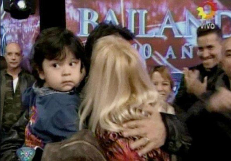 Polémica: Dieguito Fernando apareció en ShowMatch
