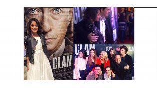 Martina Stoessel acompañó a Peter Lanzani en su gran noche en el cine argentino