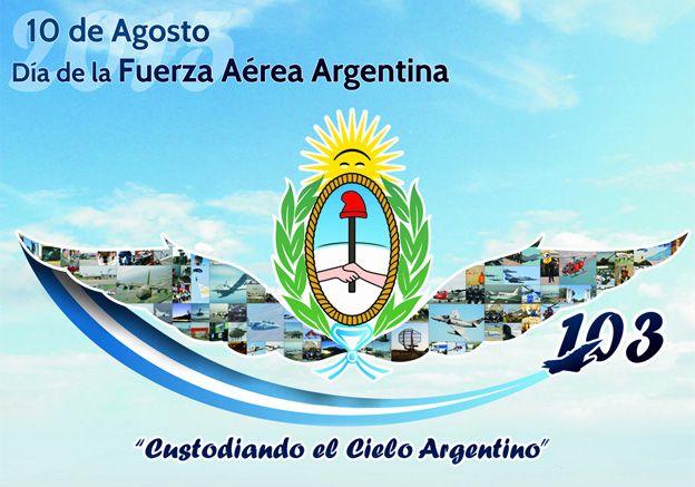 En el día de la Fuerza Aérea Argentina