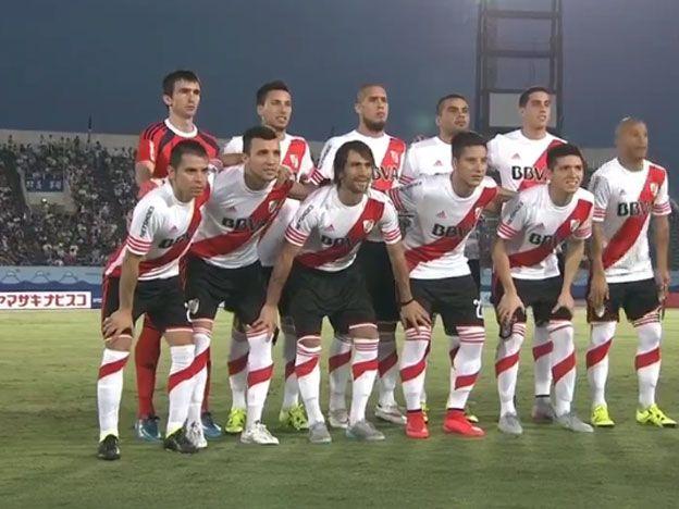 Mirá en vivo: River Plate se florea en tierras niponas y derrota 2 a 0 al Gamba Osaka