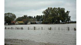 Historia repetida. Ayer muchos campos estaban cubiertos por las aguas tanto en Chabás