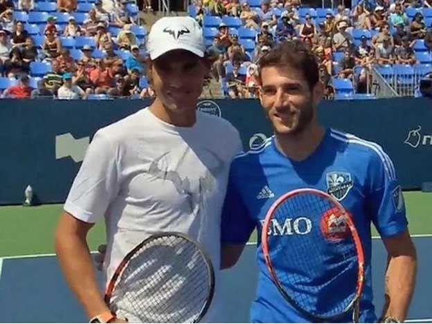 Insólito duelo: Nadal desafío a Piatti a un partido de tenis