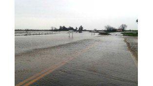 Por el fenómeno climático, monitorean las localidades afectadas de la provincia