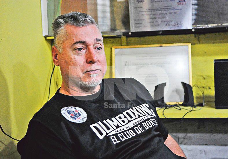 Técnico. Osvaldo Salami es uno de los entrenadores de boxeo más reconocidos y respetados de la ciudad y la provincia. Desde su lugar