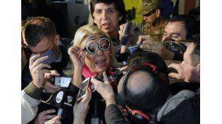 Carrió: Perdí la elección, la ganó Macri