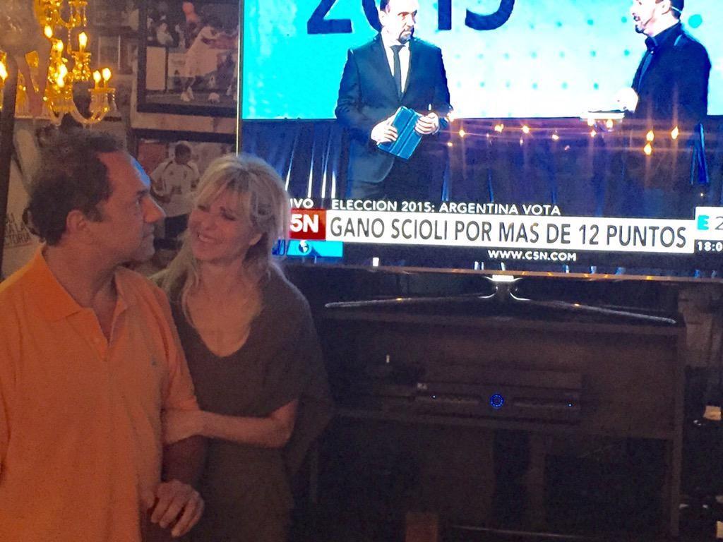 Karina Rabolini ya festeja el triunfo en Twitter: Orgullosa de vos Dani