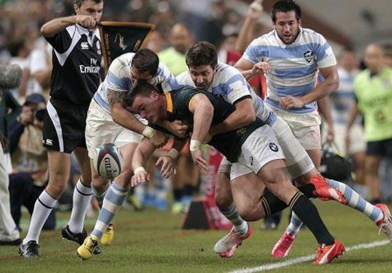 Los Pumas llegan mañana tras el histórico triunfo ante Sudáfrica