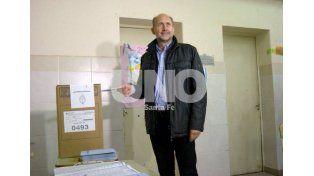 Perotti votó en Rafaela