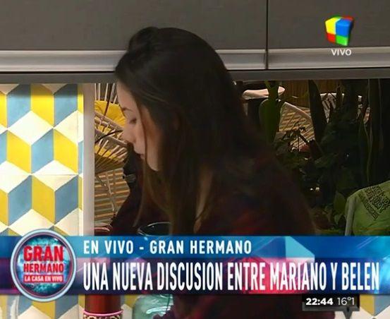 """Belén a Mariano: """"No sos mi amor, sos mi amigo y te quiero un poco"""""""