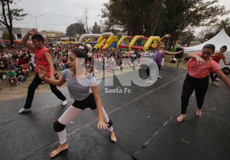 Blas Parera vivió por primera vez su Avenida de Fiesta