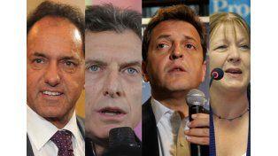 Por la presidencia. Scioli