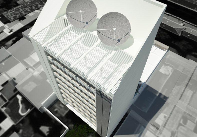 Se firmó el contrato para la construcción de la torre de Medios de UNL