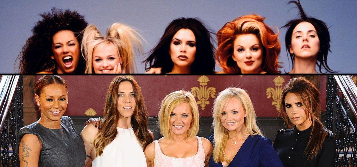 Vuelven las Spice Girls: así eran y así son ahora