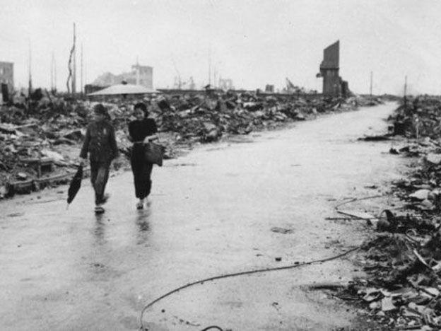 Lo que sobrevivió a la bomba de Hiroshima