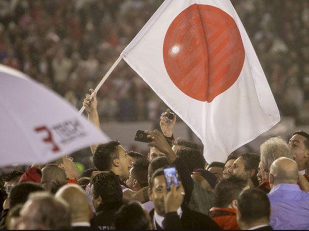 Suruga Bank: las camisetas de River tendrán los nombres en japonés