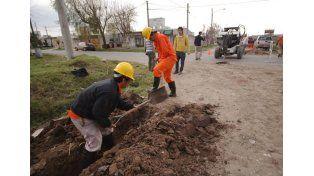 En poco tiempo, todas las familias de Nueva Pompeya tendrán agua potable
