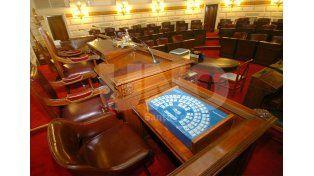 Sin quórum. Para evaluar los pliegos se necesitaba la presencia de al menos 36 legisladores.Foto: Mauricio Centurión / Diario UNO Santa Fe