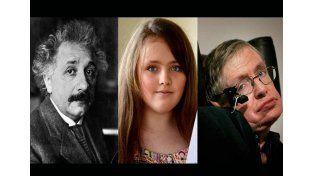 Nena de 12 años supera el coeficiente intelectual de Albert Einstein y Stephen Hawking