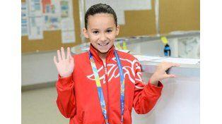 Polémica en el Mundial de Natación por una competidora de 10 años
