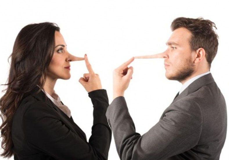 Cuáles son las mentiras más usuales que los hombres y las mujeres se dicen entre sí