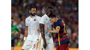 Messi, descontrolado: se calentó y reaccionó mal