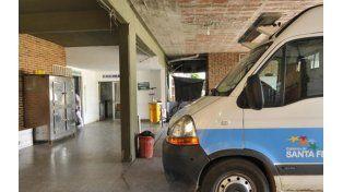 Macarena quedó internada en el hospital Granaderos a Caballo