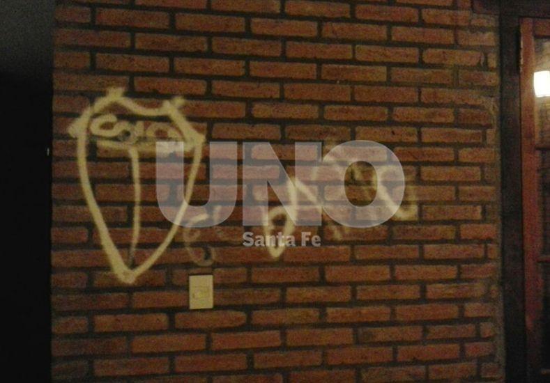 Revelador. Los graffitis son indicativos de la edad de los chicos.