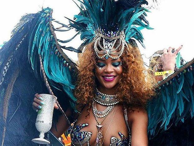 Carnaval toda la vida con Rihanna