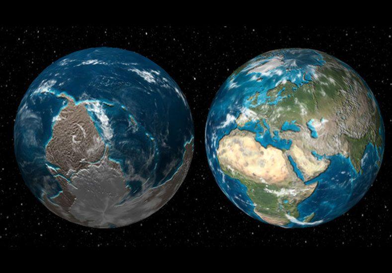 Una simulación muestra cómo era la Tierra hace 600 millones de años