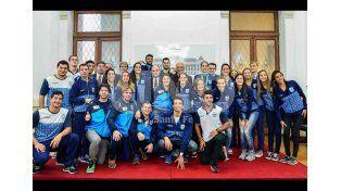 Reconocieron a deportistas santafesinos que participaron de los Juegos Panamericanos