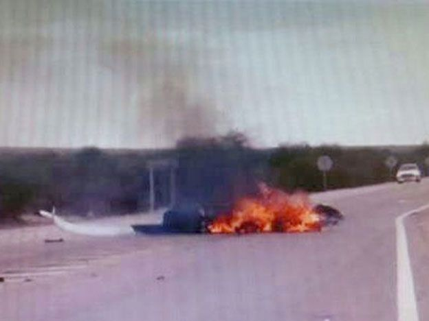 Murió un funcionario de gobierno en Anillaco cuando se precipitó el helicóptero en el que viajaba