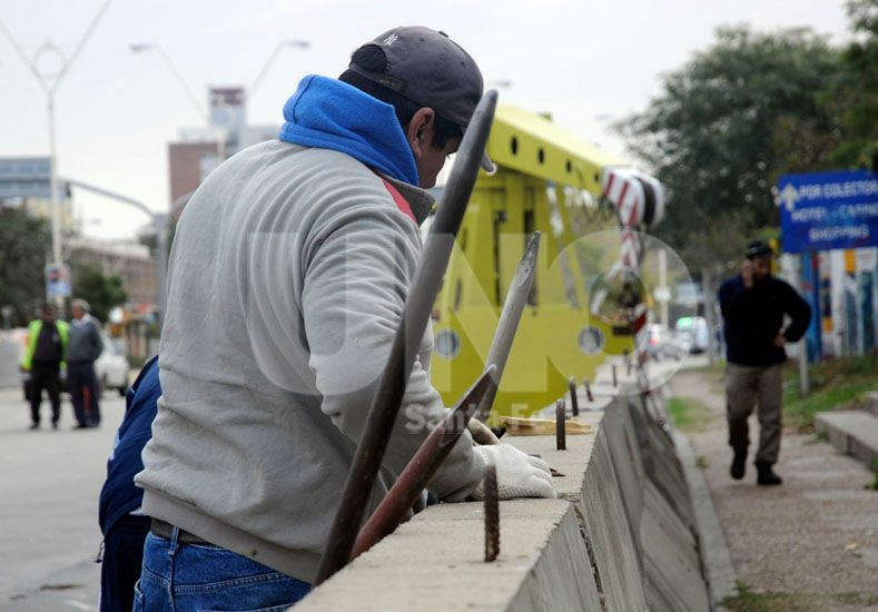 Súper TC2000: comenzó la colocación de muretes en el Callejero Santa Fe Ciudad