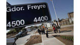 Ya está habilitada la pavimentación en el cruce de Gobernador Freyre y Pedro Ferré