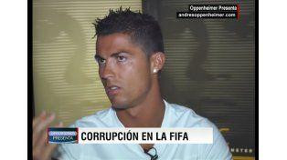 Ronaldo se calentó y dejó una entrevista cuando le preguntaron sobre...